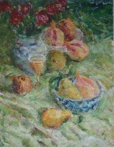 水果水粉画图片