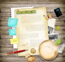 写信商务素材图片