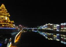 龙胜夜景图片