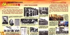 中共党史橱窗图片