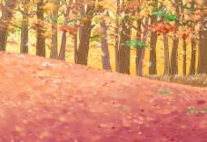 小树林漫画图片