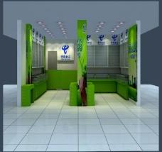 中国电信 天翼 专卖店 设计图片