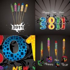 精美2011字体设计