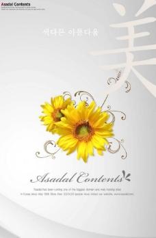 花朵创意素材图片
