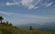 沣峪分水岭图片