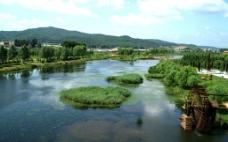 山水公园风景图片