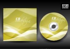 动感线条 cd封面包装设计图片