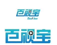 百视宝字体logo图片