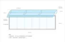 不锈钢宣传栏橱窗效果图图片