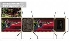 大泽山葡萄包装盒