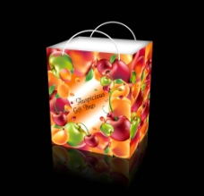精品礼品手提袋包装设计图片