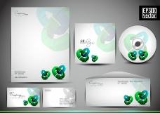动感环形 企业画册设计图片