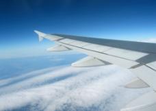 飞机 机翼图片