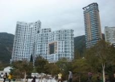 香港浅水湾建筑图片