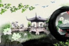 中国风素材海报图片