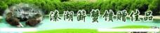 溱湖簖蟹水产展板图片