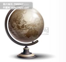 质感地球仪矢量