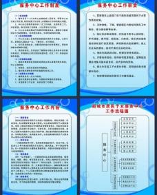 服务中心规章制度图片