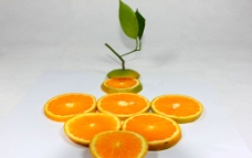 橙子创意图片