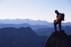 山脉与人物