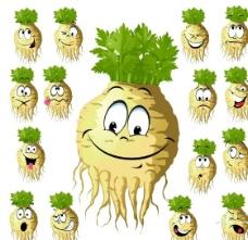 卡通榨菜图片