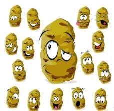 卡通土豆图片