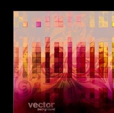 抽象背景03-矢量素材