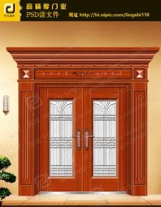 铜门门为合层图图片