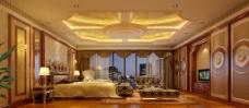 室内设计豪华卧室效果图图片