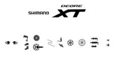 自行車禧瑪諾XT套件圖片