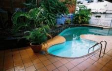 酒店里游泳池圖片