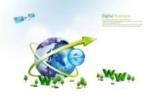 地球商务科技图片