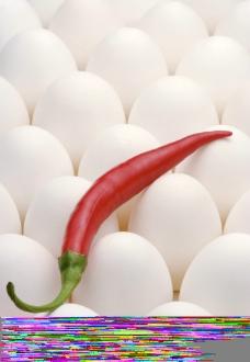 鸭蛋 红辣椒图片