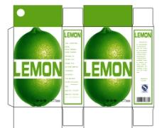 柠檬汁包装盒图片