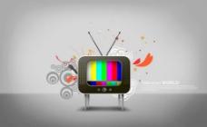創意電視圖片