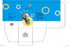 燈泡包裝設計圖片