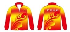 中国红风衣图片