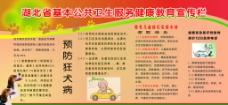 湖北省基本公共卫生健康教育宣传栏图片