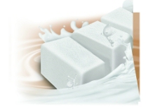牛奶冰块图片