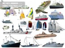 各种船舶PSD源文件
