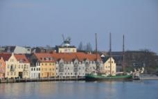 海边城市图片